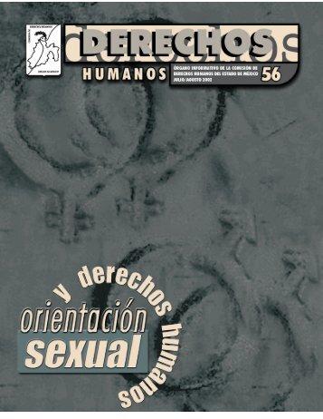 Orientación sexual y derechos humanos - codhem