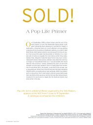 A Pop Life Primer - National Gallery of Canada