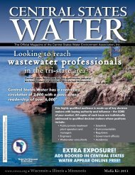 Media Kit - Central States Water Environment Association, CSWEA