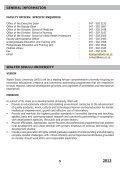 Faculty Prospectus 2012 - Walter Sisulu University - Page 7