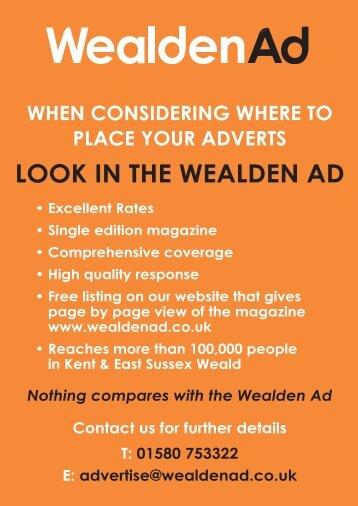 FULL PAGE - The Wealden Advertiser
