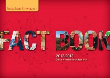 View or Download the entire 2012-2013 ISU Fact Book in PDF format.