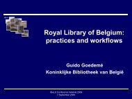practices and workflows - IGeLU