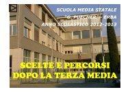 dopo la terza media 2012-13 - scuola secondaria statale di primo ...