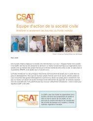 Équipe d'action de la société civile - icaso