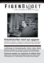 Kirkehistoriker med nye opgaver - For Studerende - Aarhus Universitet