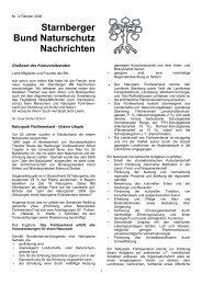 BN Nachrichten - Bund Naturschutz in Bayern e.V. Kreisgruppe ...