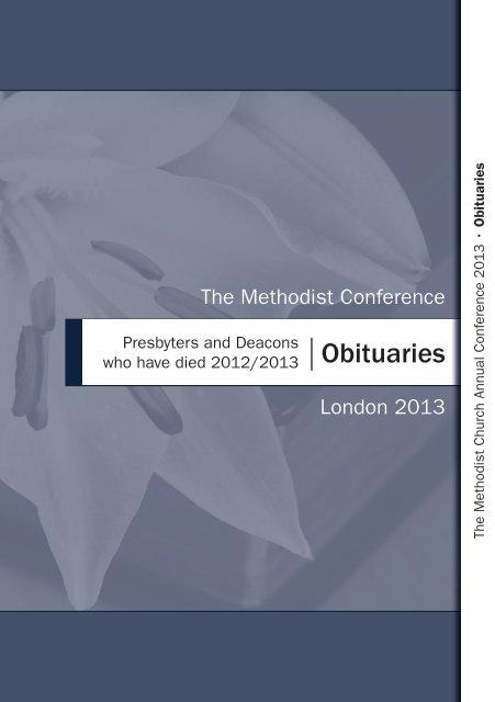 obituaries methodist conference yumpu