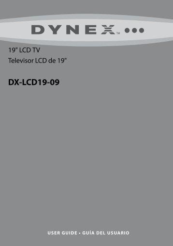 DX-LCD19-09 - Dynex