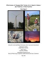 Effectiveness of Changing Wind Turbine Cut-in Speed