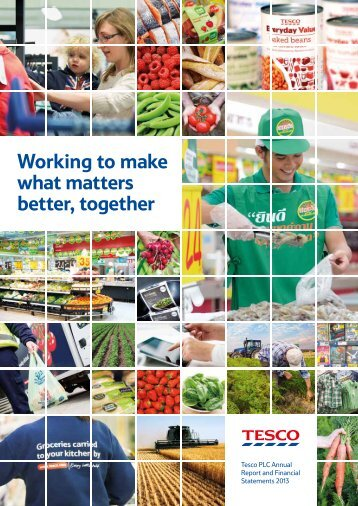 Tesco PLC Annual Report and Financial Statements 2013 - The Group