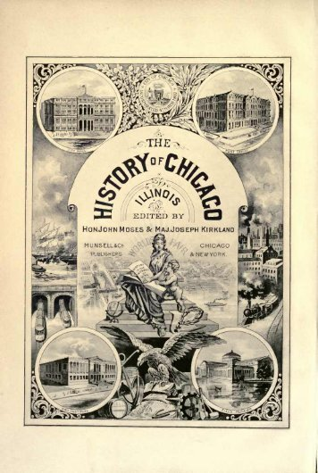 The History of Chicago - Excerpts, Vol. 1 - Adkins-Horton Genealogy