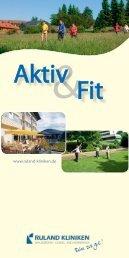 Aktiv & Fit - ACURA SIGEL Klinik