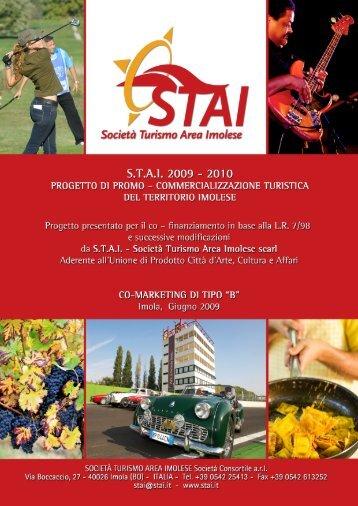Progetto di Promo Comm. S.T.A.I. 2010 (L.R. 7/98)