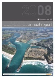 Annual Report 2007/08 - Land - NSW Government