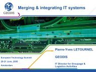 Merging and developing IT systems - Key4biz
