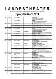 Download PDF datei Programm März 2011 - Schleswig-Holstein-Tipps