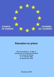 rapport sur l'éducation en prison - EPEA