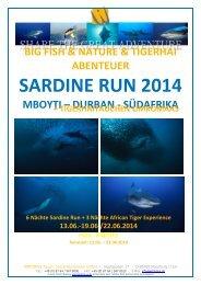 SARDINE RUN 2014 - WiroDive