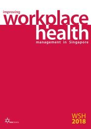 and the Workplace Safety and Health (WSH)