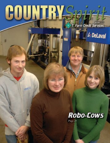 Robo-Cows - 1st Farm Credit Services