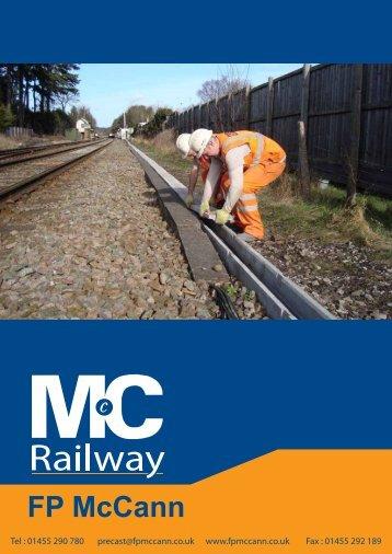 FP McCann Rail Brochure - March 2012 - 12pp ver 4 - FP McCann Ltd