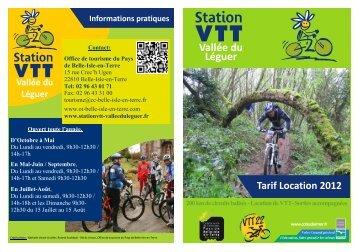 Tarifs 2012 - Pays de Guingamp