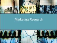 Marketing Research - iMAG