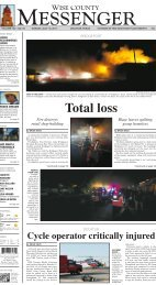 07-10-2011-Sunday - Wise County Messenger