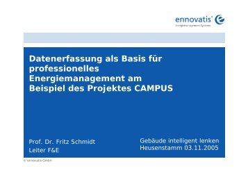 Projekt CAMPUS (Nov 05) - Kenwo.de