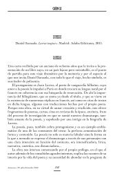 Alicia Casado, Larrea Toujours, de Daniel Sarasola - Resad