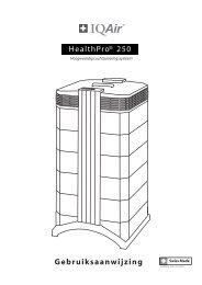 Handleiding HealthPro 250 - Vitalitools