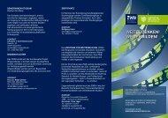 Flyer des ZWB - Zentrum für Weiterbildung - Bergische Universität ...