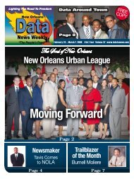 New Orleans Urban League Moving Forward