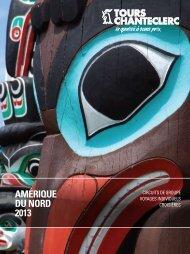 AMÉRIQUE DU NORD 2013 - Voyages à rabais