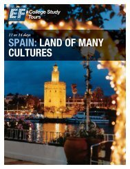 SPAIN: LAND OF MANY CULTURES - EF College Study Tours
