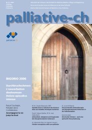 BIGORIO 2006 - Palliative ch