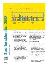 Factsheet Niet Sporters - Mulier Instituut