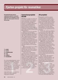 62 14 projekt för reumatiker - Välkommen till Reumatikertidningens ...