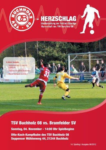 TSV Buchholz 08 vs. Bramfelder SV - TSV Buchholz 08 Fußball