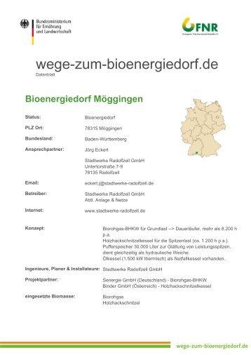Download als PDF - Wege zum Bioenergiedorf
