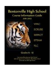 Course Guide 2011-2012 - Bentonville Public Schools