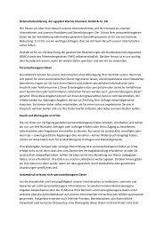 Datenschutzerklärung der egeplast Werner Strumann GmbH & Co ...