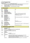 Kemikaalin käyttöturvallisuustiedote - Page 5