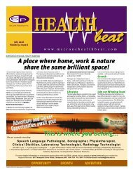 July 2006 - McCrone Healthbeat