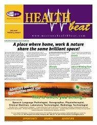 July 2006 - McCrone Healthbeat