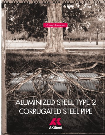 ALUMINIZED STEEL TYPE 2 CORRUGATED STEEL PIPE