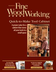Quick-to-Make Tool Cabinet