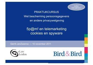 spam, cookies en telemarketing - zwenneblog