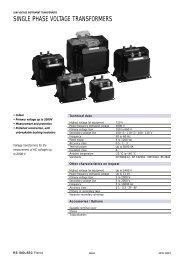 Voltage Regulator VR-1 Single Phase Step - GE Industrial Systems